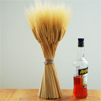 Wheat Sheaves Golden Medium 6 Sheaves