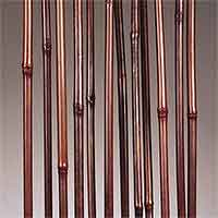 Mahogany Bamboo Sticks