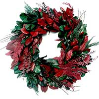 Seasons Greetings Wreath, 24""