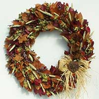 Flora Fall Wreath
