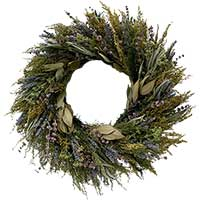 Dried Fragrant Flora Wreath
